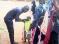 Abel unterstützt mit seinem Gehalt Waisenkinder